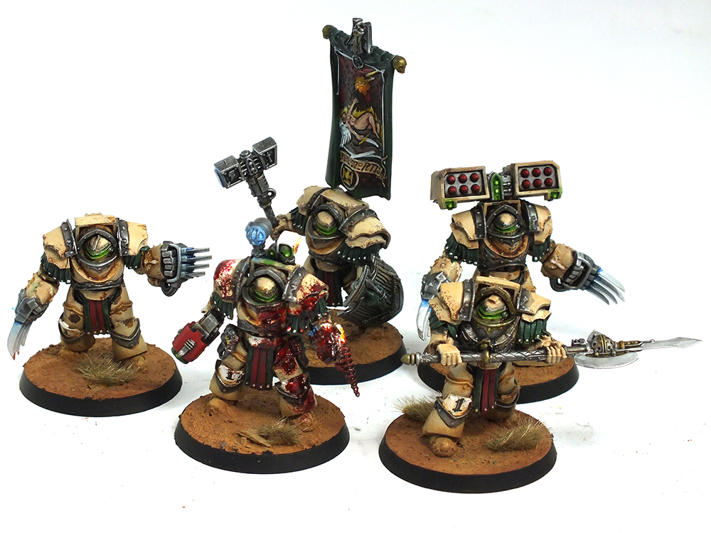 Deathwing Commission Complete warhammer 40k 2 space marines showcase deathwing 6th ed deathwing commissions  warhammer terminator gw Gaming/Tournaments deathwing dark angels 40k
