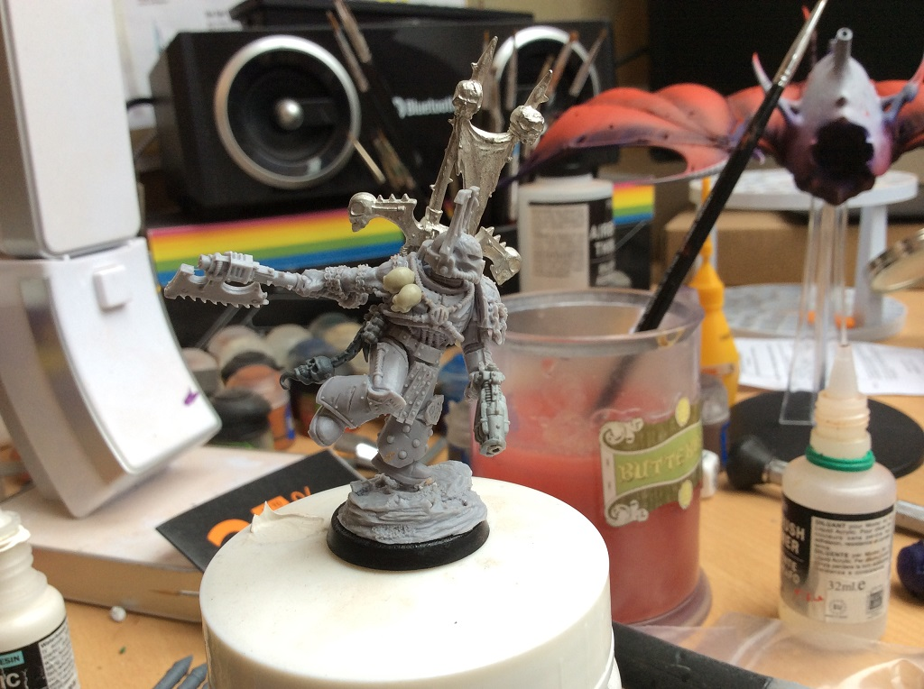 Kharn the Betrayer Conversion Commission Warhammer 40k kharn the betrayer conversions commissions