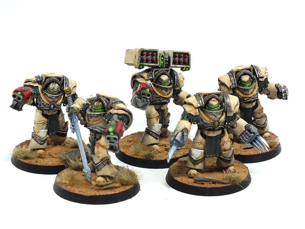 COMMISSION: Deathwing Terminators Squad One deathwing commissions  gw games workshop deathwing dark angels commission 40k