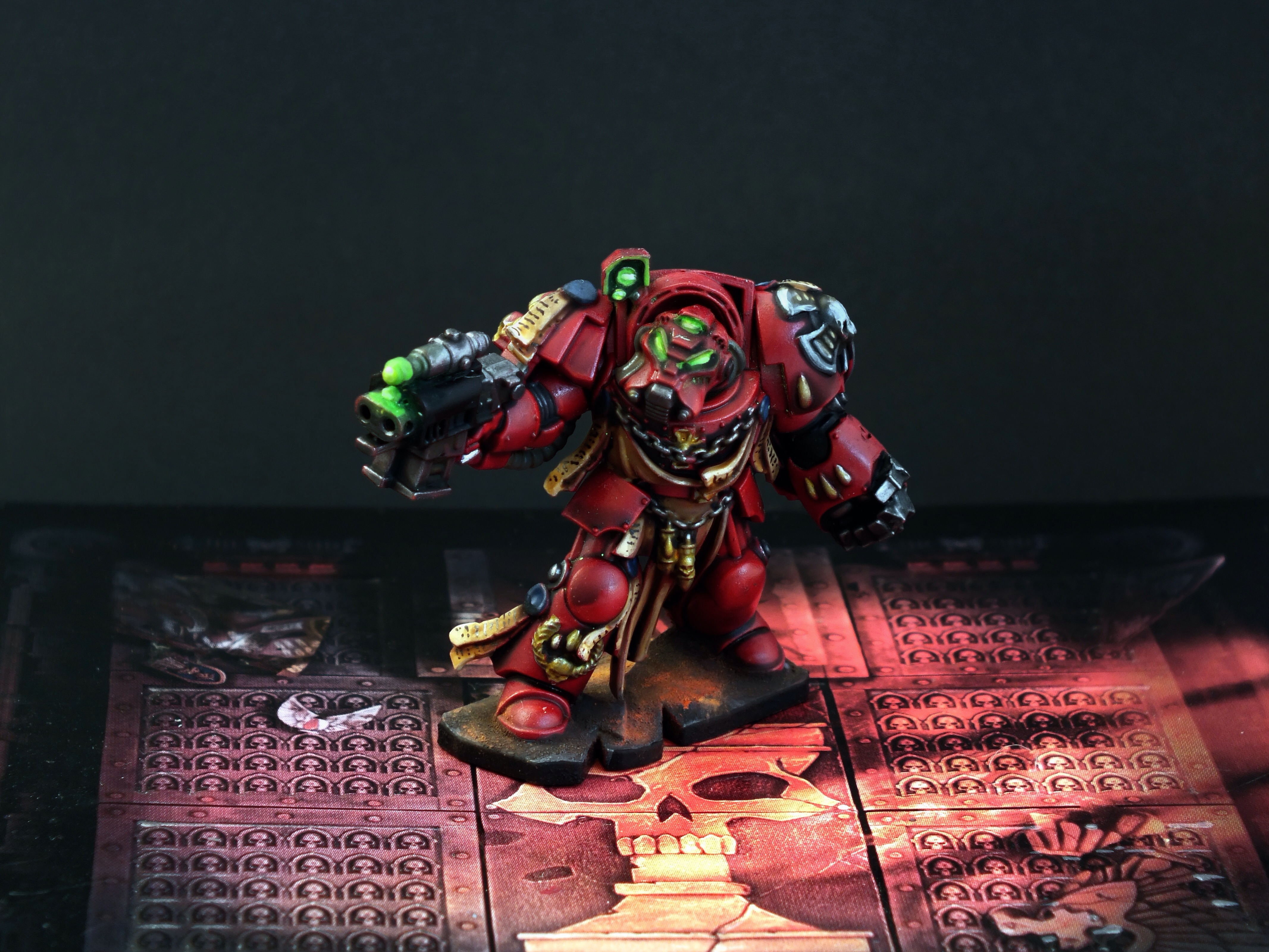 Space Hulk Terminators Commission Complete warhammer 40k 2 space marines space hulk showcase commissions blood angels  wh40k warhammer 40k space hulk blood angels